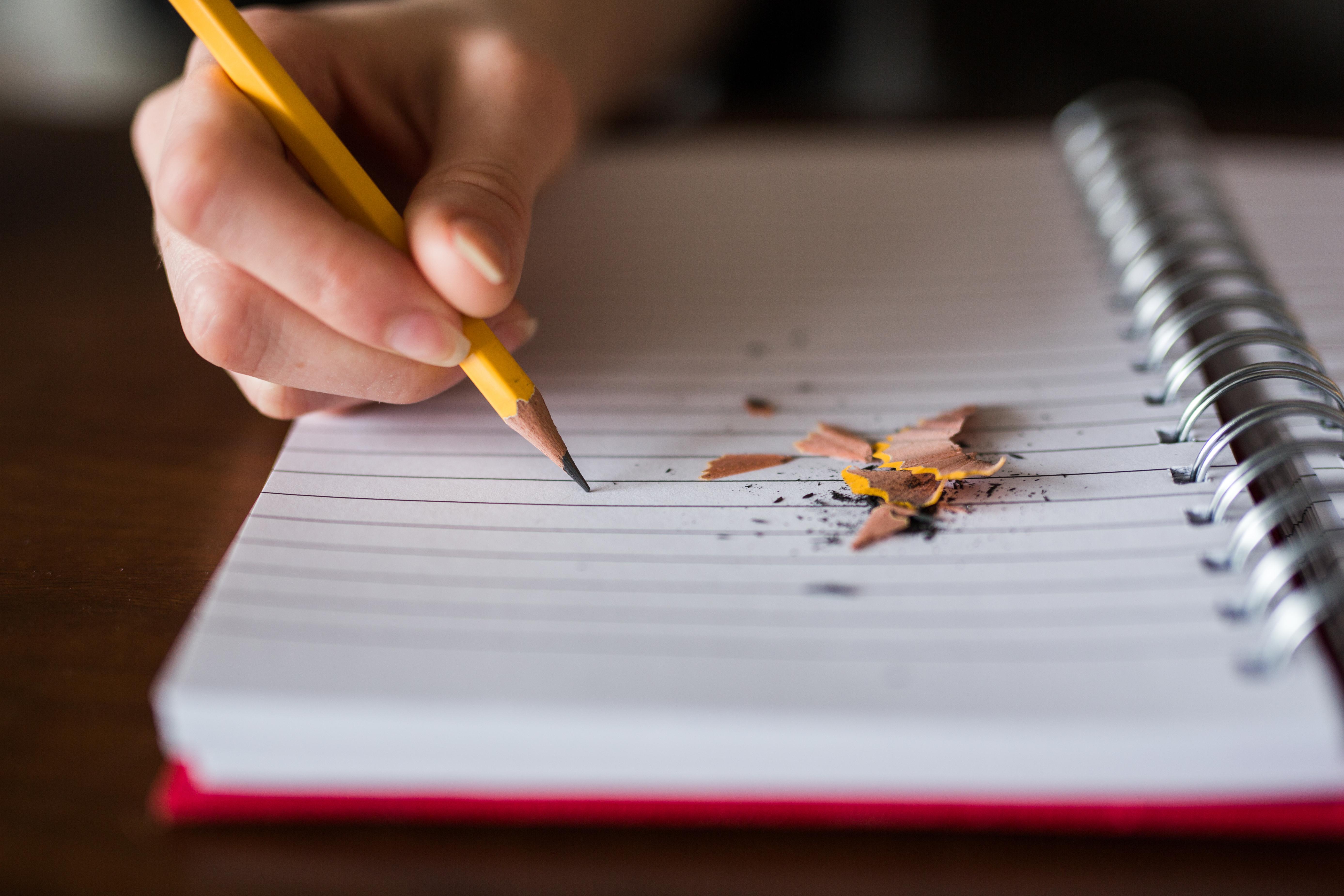 文字を書くことの重要性